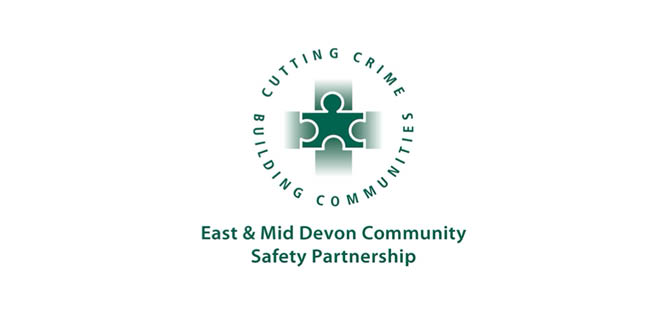 East Devon and Mid Community Safety Partnership logo