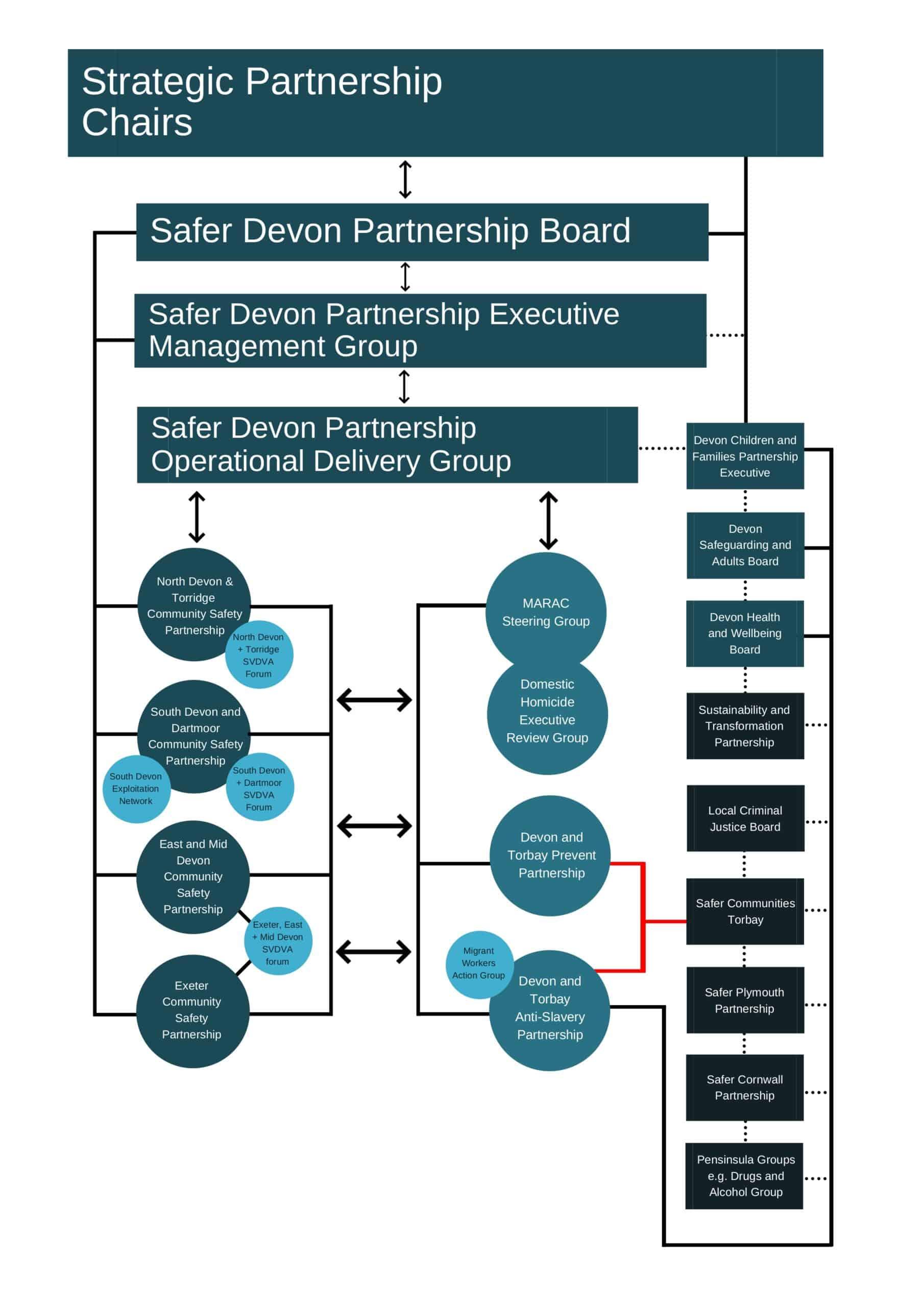Safer Devon Governance Partners Groups